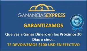 Qué es Ganancias Express